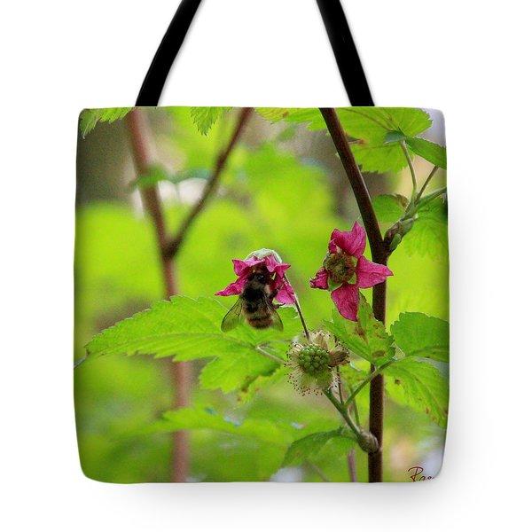 Salmonberry Honey Tote Bag