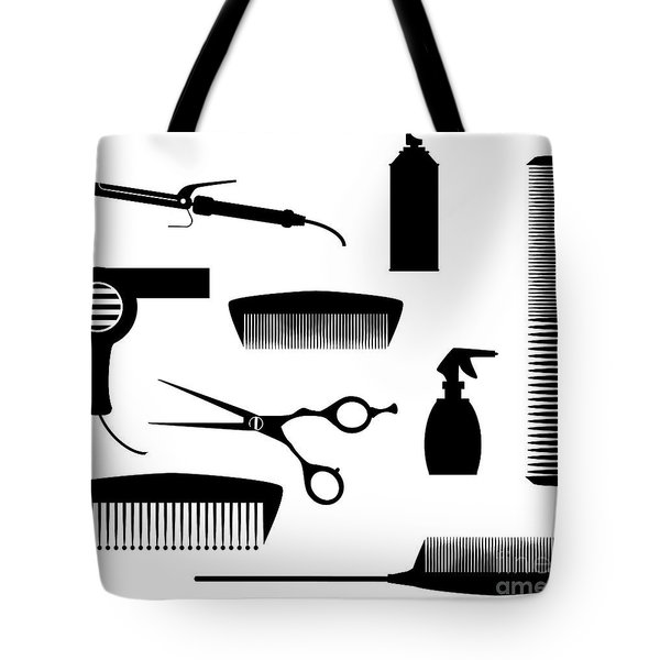 Salon Tools Tote Bag