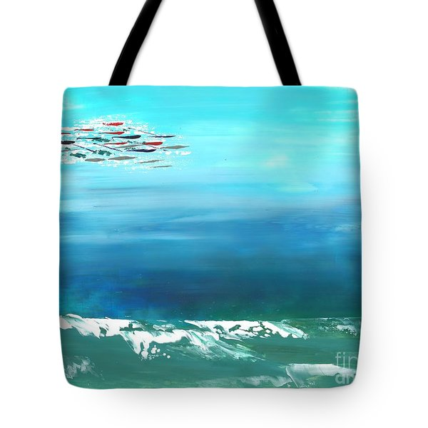 Salt Air Tote Bag