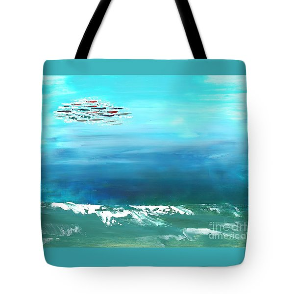 Salt Air Tote Bag
