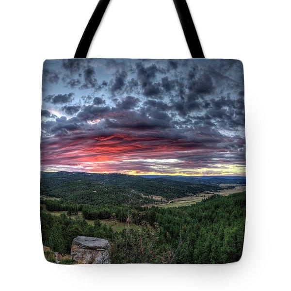 Salt Creek Sunrise Tote Bag