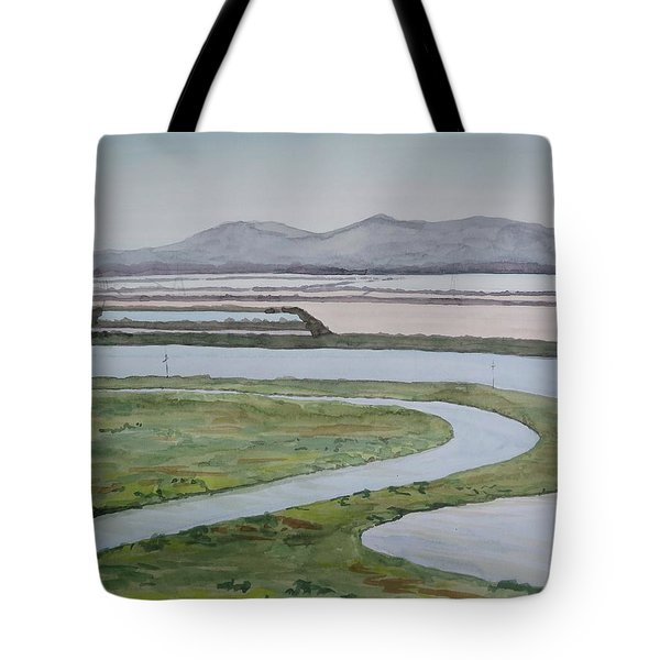 Salt Fields Tote Bag by Bethany Lee
