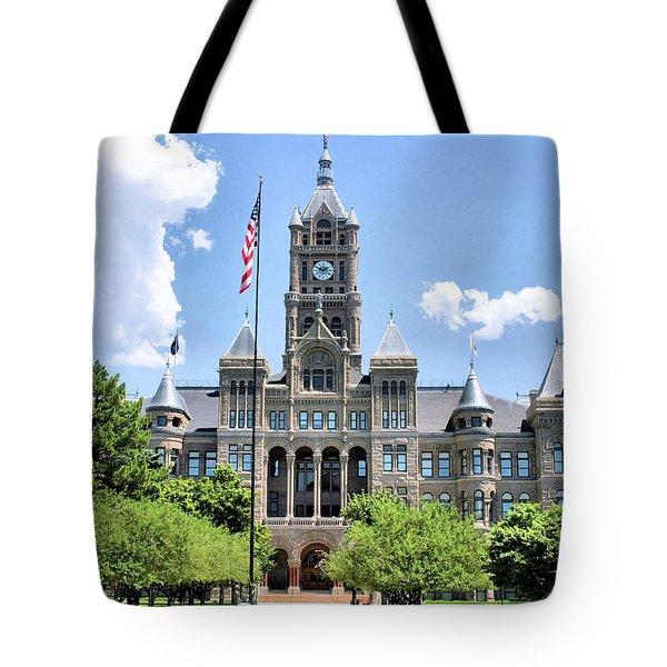 Salt Lake City County Building Tote Bag