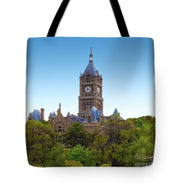 Salt Lake City Hall Tote Bag