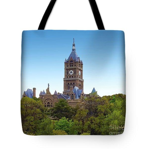 Salt Lake City Hall Tote Bag