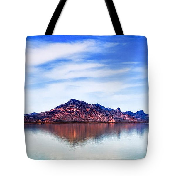 Salt Lake Mountain Tote Bag