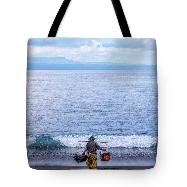 Salt Making - Bali Tote Bag