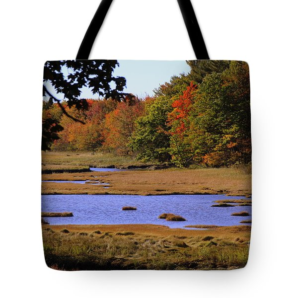 Salt Marsh River Tote Bag