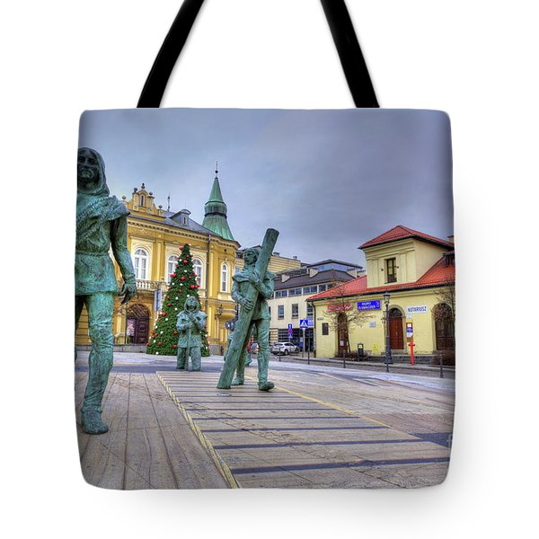 Tote Bag featuring the photograph Salt Miners Of Wieliczka, Poland by Juli Scalzi