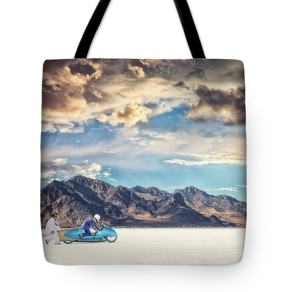 Salt Push Tote Bag