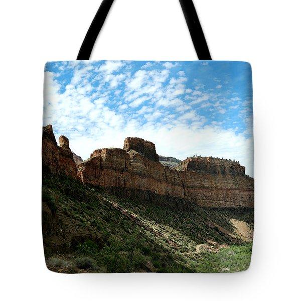 Salt River Canyon Arizona Tote Bag