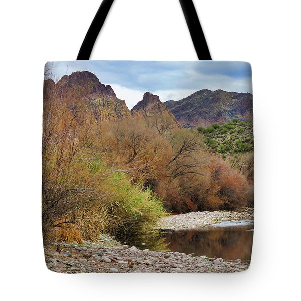 Salt River Pebble Beach Tote Bag