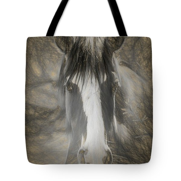 Tote Bag featuring the photograph Salt River Stallion by Teresa Wilson