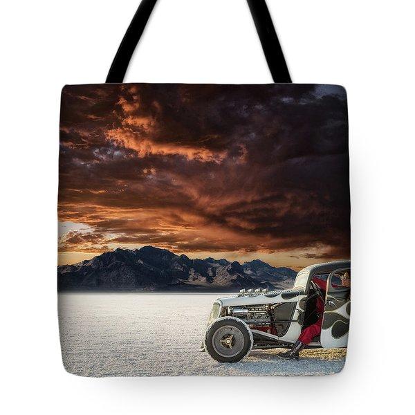 Salt Sunset Tote Bag