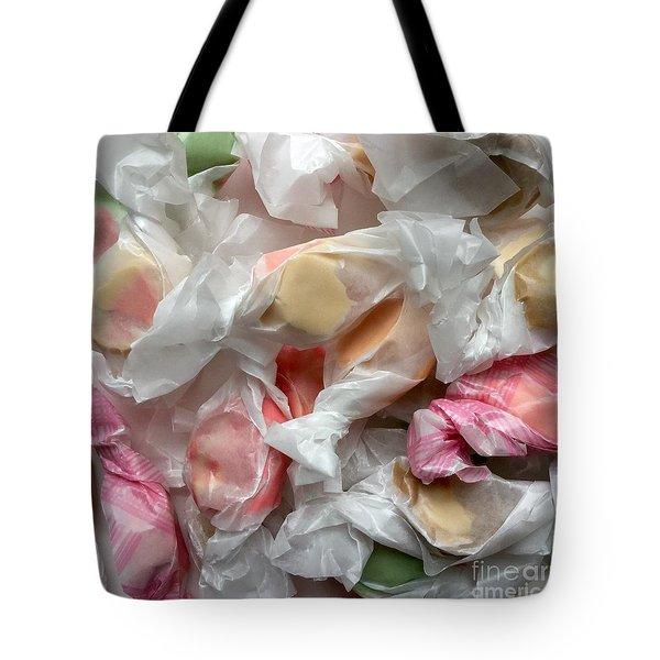 Salt Water Taffy Pastel Lusciousness No. 1 Tote Bag