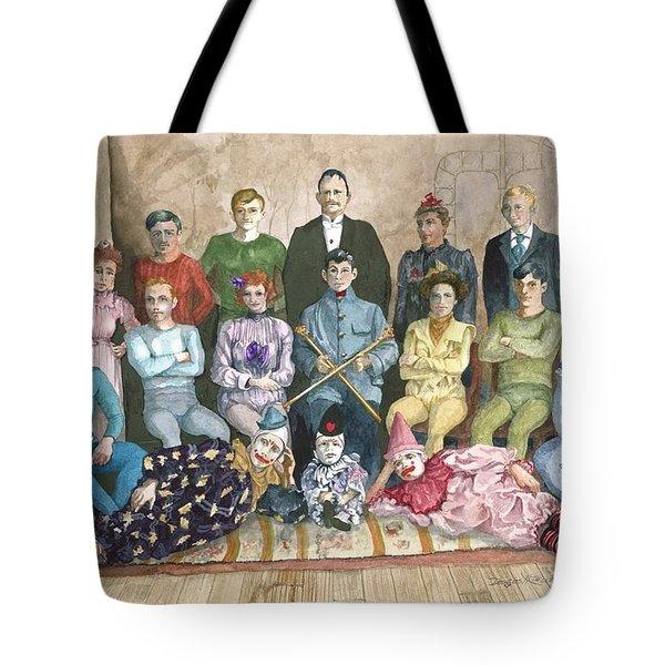 Saltimbanques Tote Bag