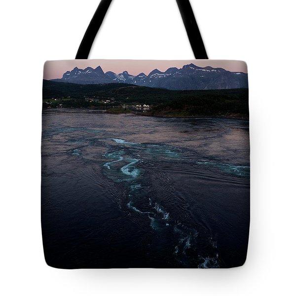 Saltstraumen, Magic Power Stream Tote Bag