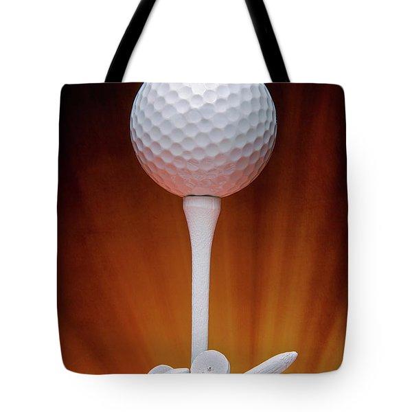 Salute To Golf Tote Bag