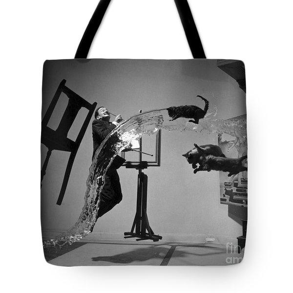 Salvador Dali 1904-1989 Tote Bag by Granger