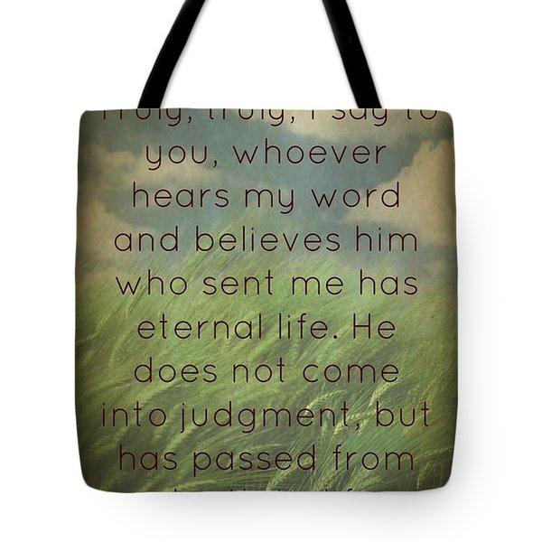 Salvation 454 Tote Bag
