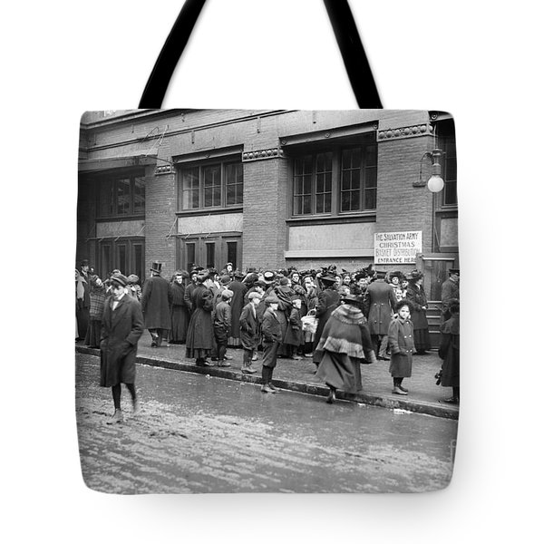 Salvation Army, 1908 Tote Bag by Granger