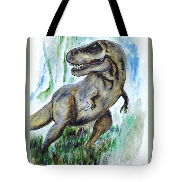 Salvatori Dinosaur Tote Bag