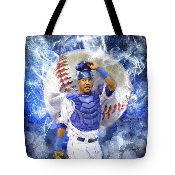 Salvy The Mvp Tote Bag by Colleen Taylor