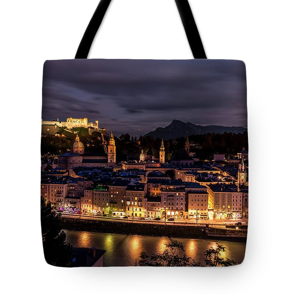 Tote Bag featuring the photograph Salzburg Austria by David Morefield