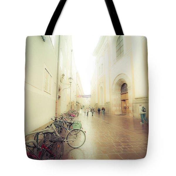 Salzburg Rain Tote Bag