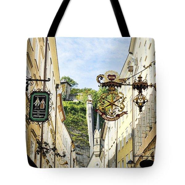 Salzburg Shopping Tote Bag