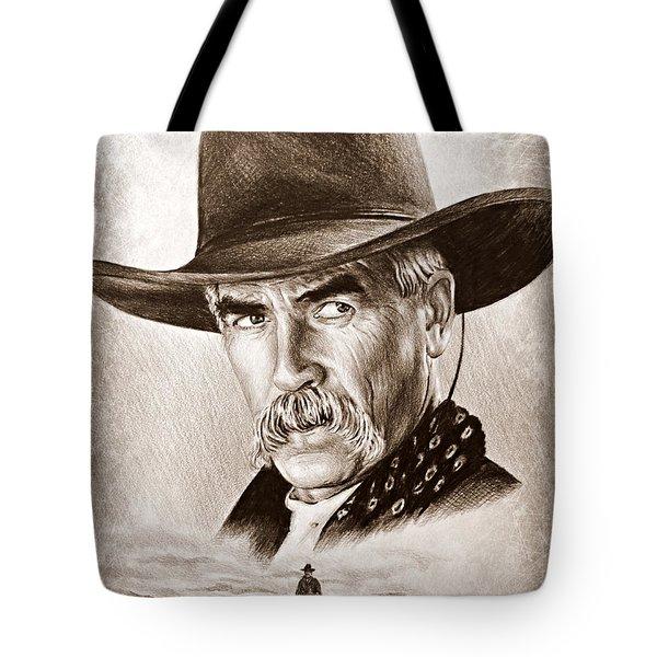 Sam Elliot The Lone Rider Tote Bag