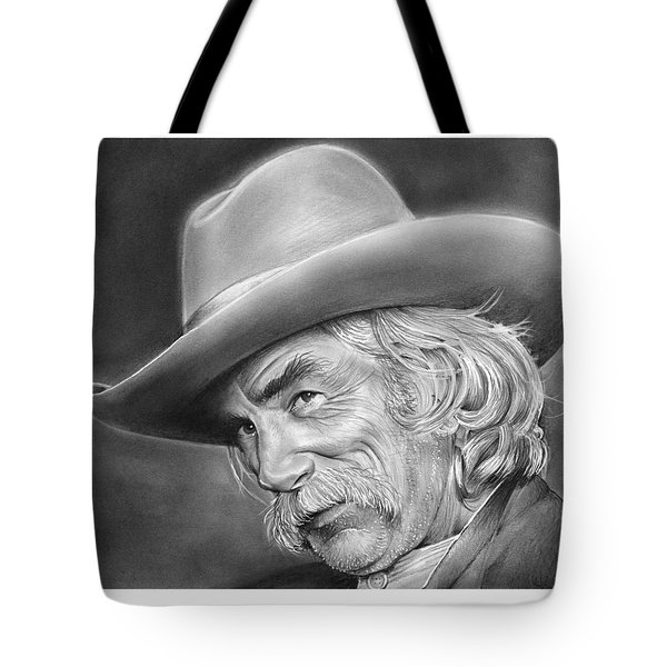 Sam Elliott Tote Bag