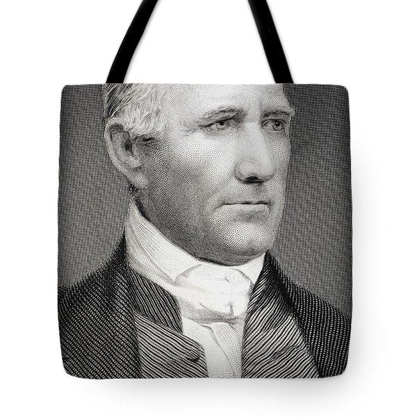Sam Houston Tote Bag