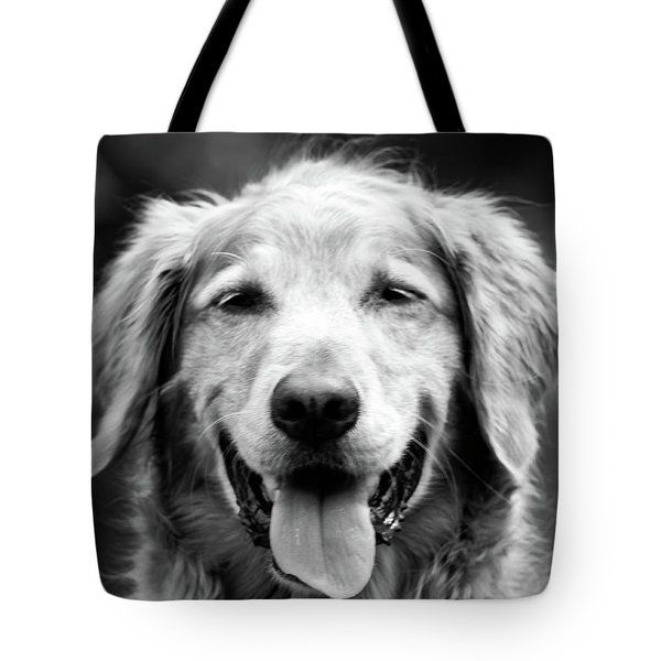Sam Smiling Tote Bag