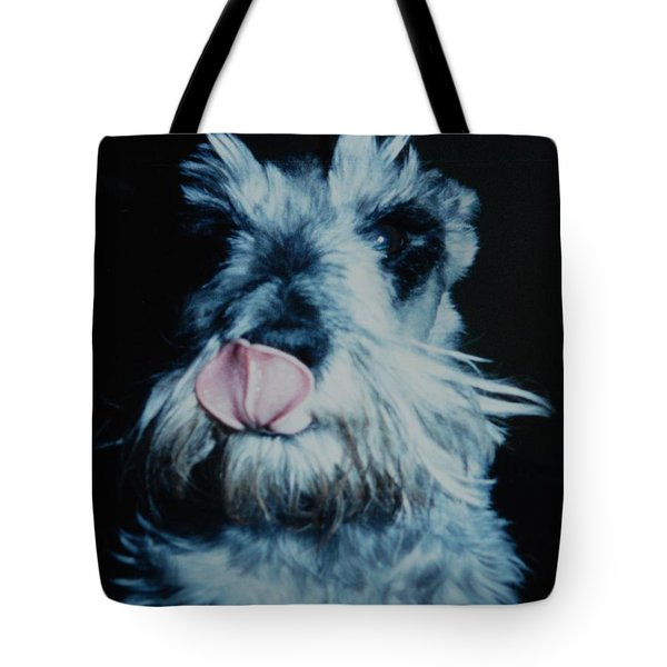 Sam The Fat Cow Tote Bag by Rob Hans