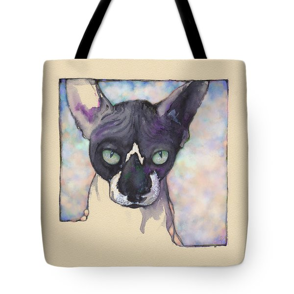 Sam The Sphynx Tote Bag