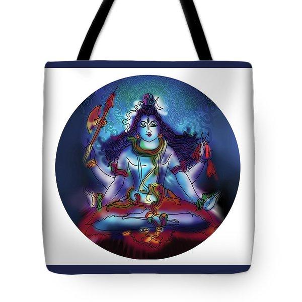 Samadhi Shiva Tote Bag