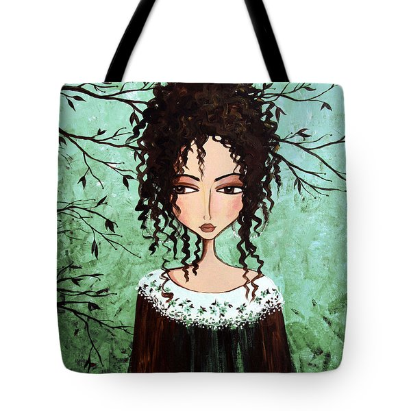 Samantha's Chocolate Tree Tote Bag