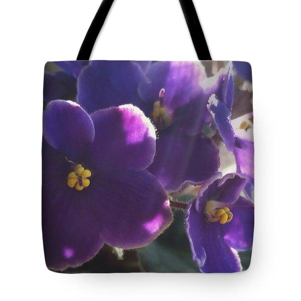 Samara's Flowers Tote Bag by Jim Vance