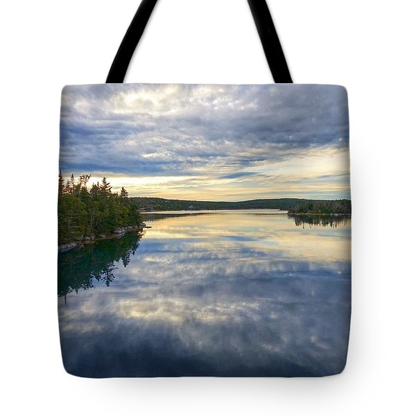 Sambro Basin I Nova Scotia Tote Bag