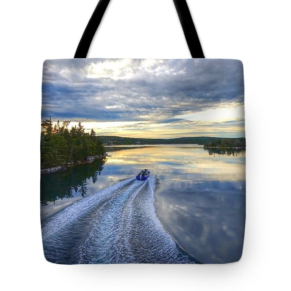Sambro Basin II Nova Scotia Tote Bag