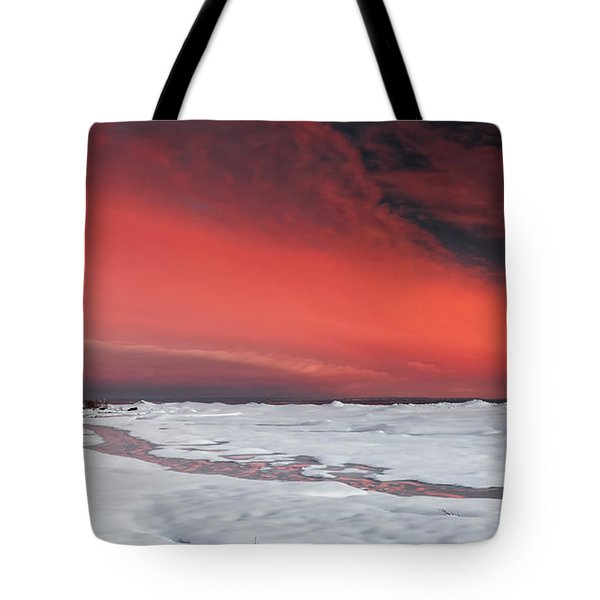 Same Night Looking East Tote Bag