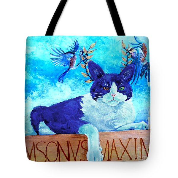 Sammy The Great And The Winged Victories Tote Bag
