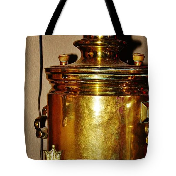 Tote Bag featuring the photograph Samovar by Vadim Levin