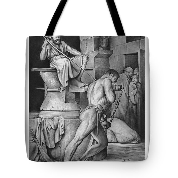 Samson Tote Bag by Greg Joens