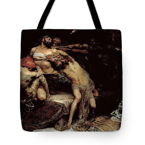 Samson Tote Bag by Solomon Joseph Solomon