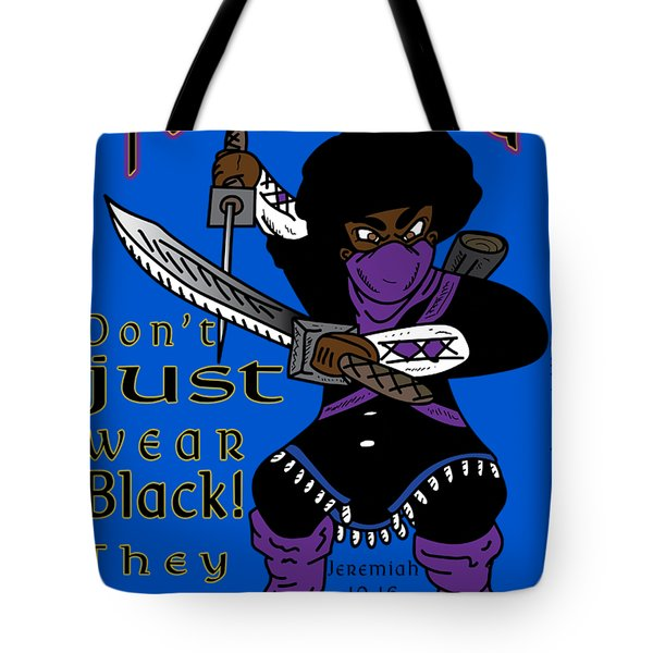 True Ninja Tote Bag