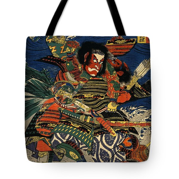 Samurai Warriors Battle 1819 Tote Bag by Padre Art
