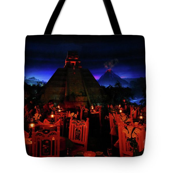 San Angel Inn Mexico Tote Bag by David Lee Thompson