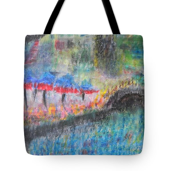San Antonio By The River I Tote Bag